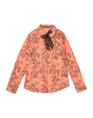 Pубашка SCOTCH R'BELLE. Цвет: лососево-розовый