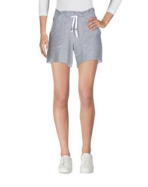Повседневные шорты CARLA G.. Цвет: серый