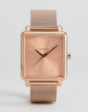Nixon Часы цвета розового золота K Squared. Цвет: золотой