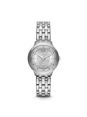 Часы Armani Exchange. Цвет: серебристый