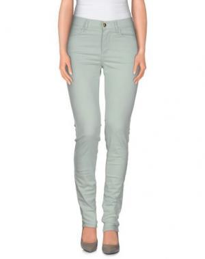 Повседневные брюки MONKEE GENES. Цвет: светло-зеленый