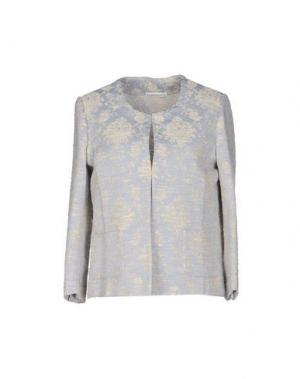 Пиджак PUROTATTO. Цвет: светло-серый