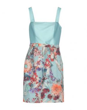 Короткое платье CAILAN'D. Цвет: небесно-голубой