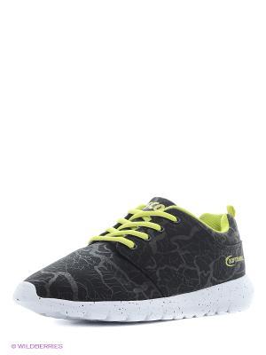 Мембранная обувь Ascot. Цвет: черный, желтый