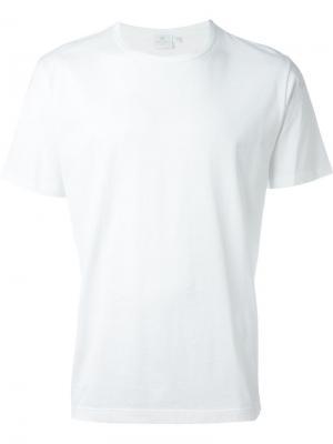 Классическая футболка Sunspel. Цвет: белый