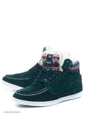 Ботинки Patrol. Цвет: темно-зеленый