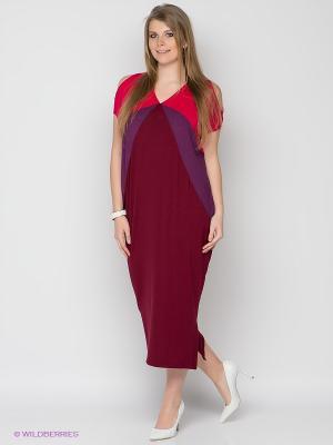 Платье МадаМ Т. Цвет: бордовый