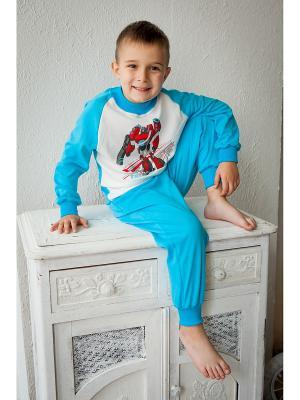 Пижама Tsipochka. Цвет: бирюзовый