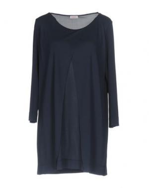 Блузка ROSSOPURO. Цвет: темно-синий