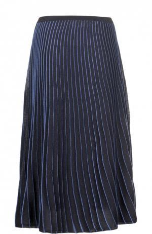 Вязаная юбка Maliparmi. Цвет: синий