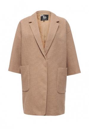 Пальто Sinequanone. Цвет: бежевый