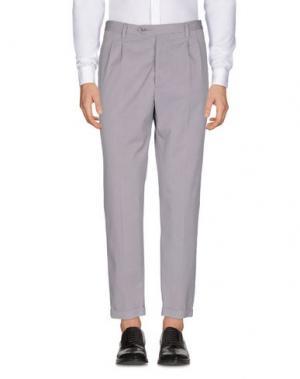 Повседневные брюки JEY COLE MAN. Цвет: голубиный серый