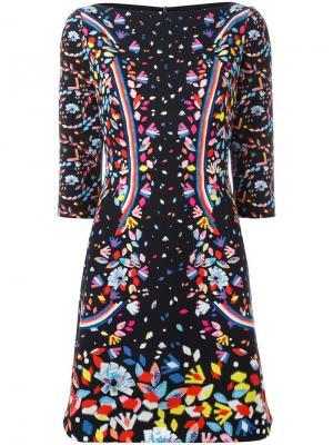 Мини-платье Cady Peter Pilotto. Цвет: чёрный