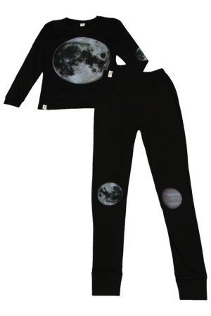 Пижама POPUPSHOP. Цвет: черный