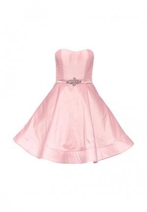Платье To be Bride. Цвет: розовый