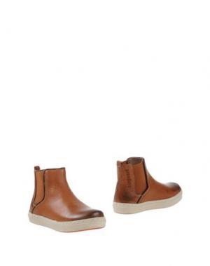 Полусапоги и высокие ботинки BISGAARD. Цвет: коричневый