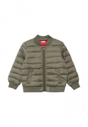 Куртка утепленная Blukids. Цвет: хаки