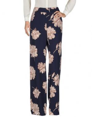 Повседневные брюки MARELLA. Цвет: темно-синий