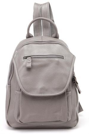 Рюкзак BAGSTONE. Цвет: серый
