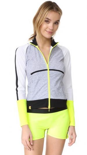 Очень легкая куртка Monreal London. Цвет: серый меланж