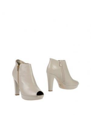 Ботинки NERO GIARDINI. Цвет: светло-серый