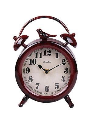 Часы настольные PATRICIA. Цвет: бордовый