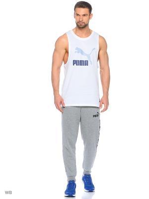Майка спортивная Archive Logo Fashion Tank Puma. Цвет: белый