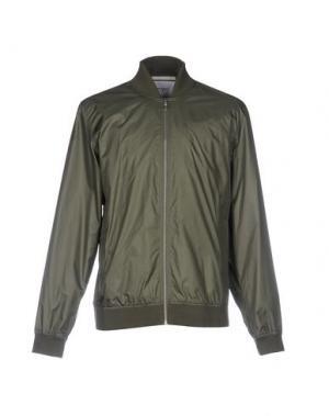 Куртка NORSE PROJECTS. Цвет: зеленый-милитари