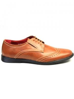 Туфли Airbox. Цвет: коричневый