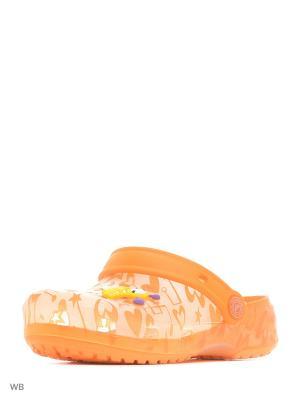 Пантолеты Effa. Цвет: оранжевый