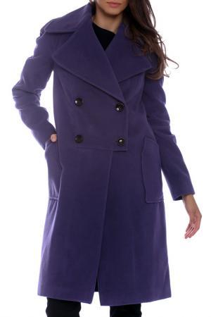 Coat Moda di Chiara. Цвет: violet