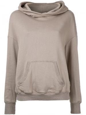 Front pocket hoodie Cityshop. Цвет: коричневый