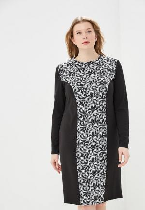Платье XLady. Цвет: черный