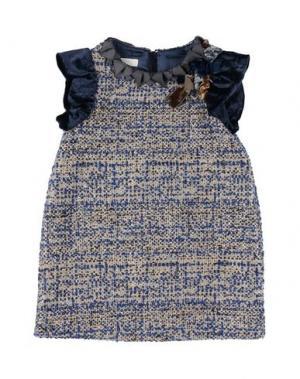 Платье I PINCO PALLINO I&S CAVALLERI. Цвет: синий