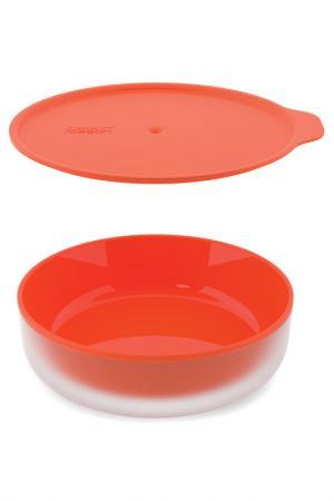Блюдо с двойными стенками Joseph. Цвет: оранжевый