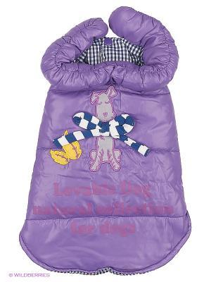 Куртка Lovabledog. Цвет: фиолетовый