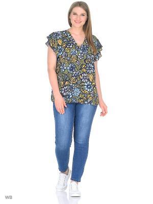 Блузка Fiorella Rubino. Цвет: белый
