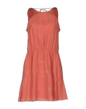 Короткое платье INTROPIA. Цвет: пастельно-розовый