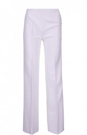 Прямые брюки со стрелками Alaia. Цвет: белый