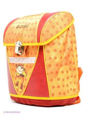 Рюкзак PROFF. Цвет: желтый, красный