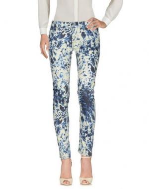 Повседневные брюки BLAUER. Цвет: синий