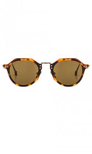 Солнцезащитные очки gare st lazare Ahlem. Цвет: коричневый