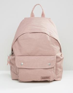 Eastpak Бежевый рюкзак с перфорацией и уплотнением PakR. Цвет: бежевый
