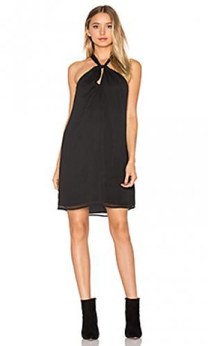Мини платье head over WAYF. Цвет: черный