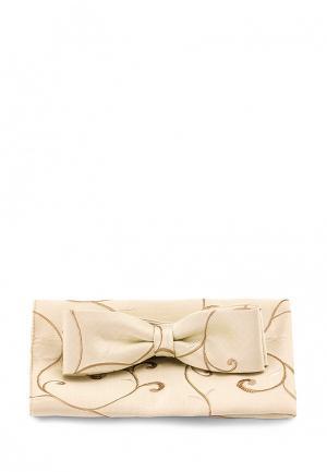 Комплект бабочка и платок Carpenter. Цвет: бежевый
