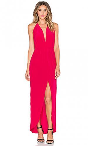 Платье миди fever Rory Beca. Цвет: красный