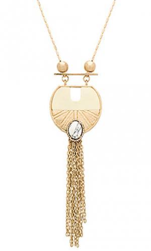 Ожерелье wildest dreams pendant Samantha Wills. Цвет: металлический золотой