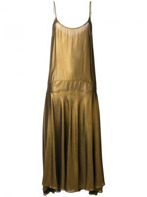 Flared dress Mes Demoiselles. Цвет: телесный