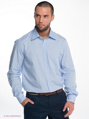 Рубашка RETIEF. Цвет: светло-голубой