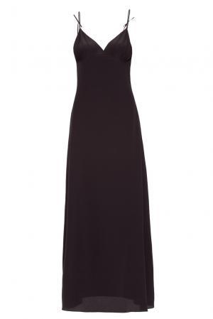 Платье-комбинация из шелка 159415 Mari Axel. Цвет: черный